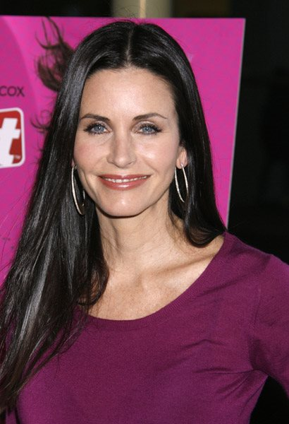 Peso y altura de Courteney Cox