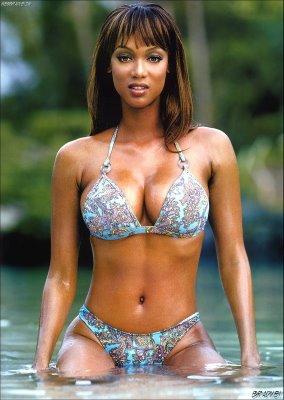 Peso y altura de Tyra Banks