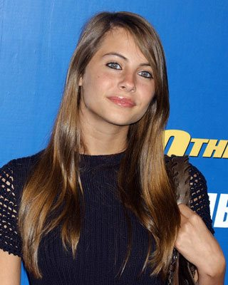 Peso y altura de Willa Holland
