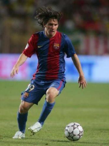 Peso y altura de Lionel Messi
